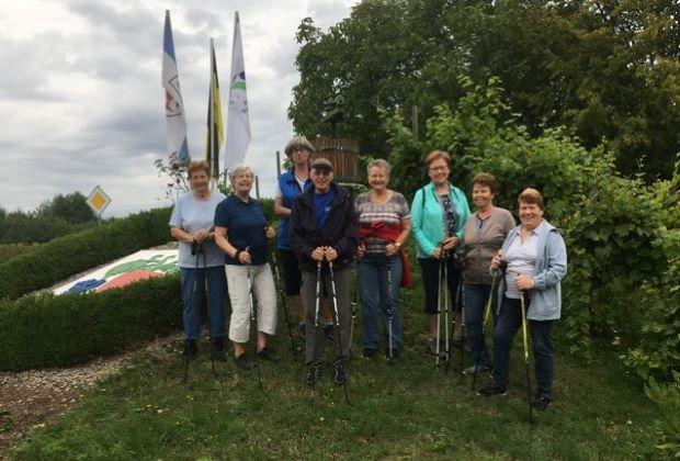 Nordic Walking Gruppenbild